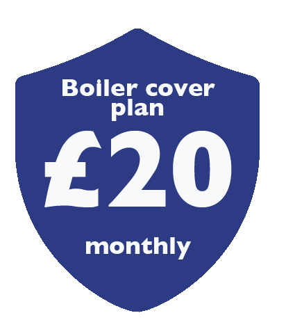 Boiler cover plan £20 monthly