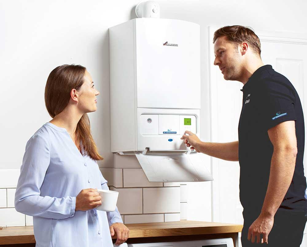 New Boiler Service and Repairs | RF Henderson Heating